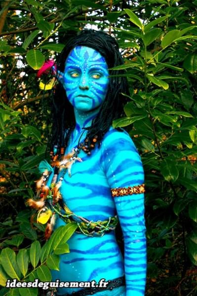 Déguisement femme d'Avatar