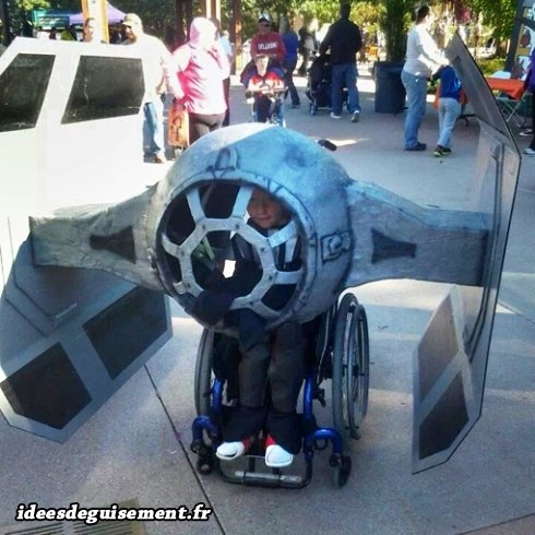 Déguisement de vaisseau spatial Star Wars