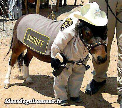 Costume de Sheriff du Western