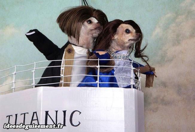 Costume en couple de Titanic