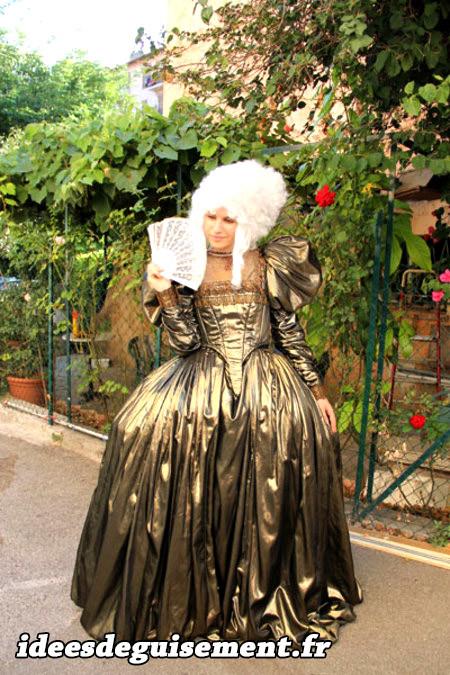 Costume de Marquise au Carnaval de Venise