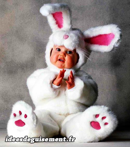 Déguisement de lapin de Pâques