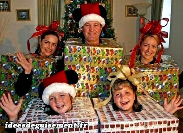 Déguisements de cadeaux de Noël faciles à faire