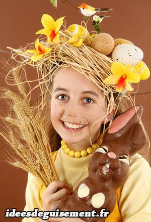 Costume original de Pâques