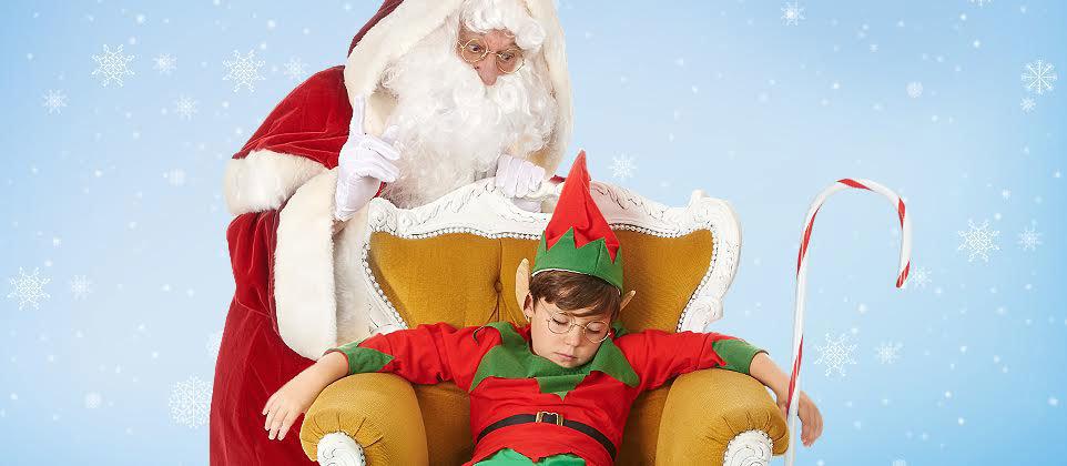 Déguisements du Père Noël et de son Lutin