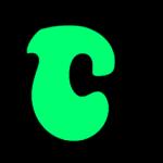 Green letter C