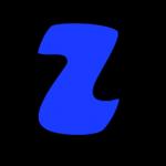 Letra Z azul