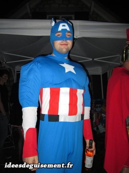 Déguisement de Captain America
