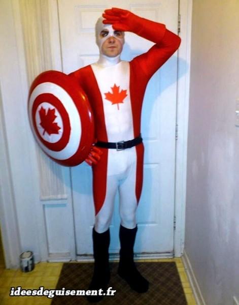 Déguisement de Captain Canada