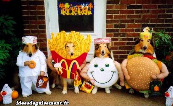Déguisement de Fast Food