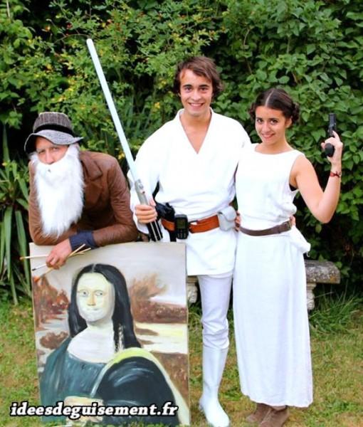 Costume de Princesse Leia