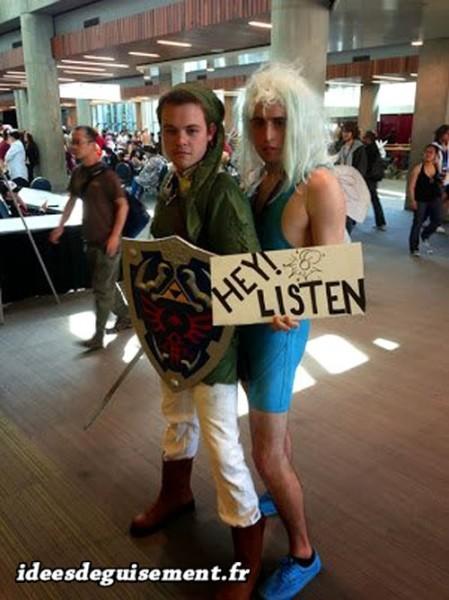 Déguisements de Zelda et Link