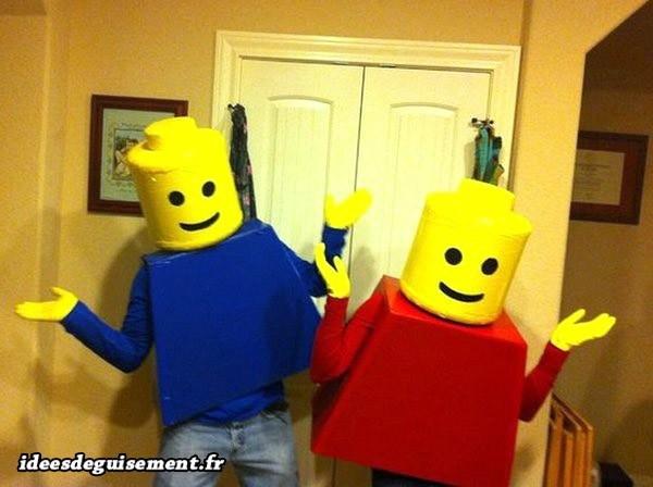Déguisements garçons de Legos