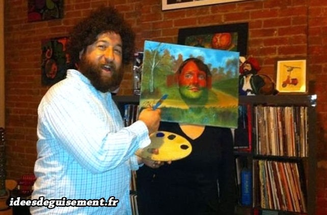 Déguisement homme peintre