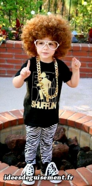 Costume enfant de Redfoo LMFAO