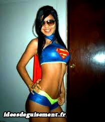 Costume sexy de Supergirl