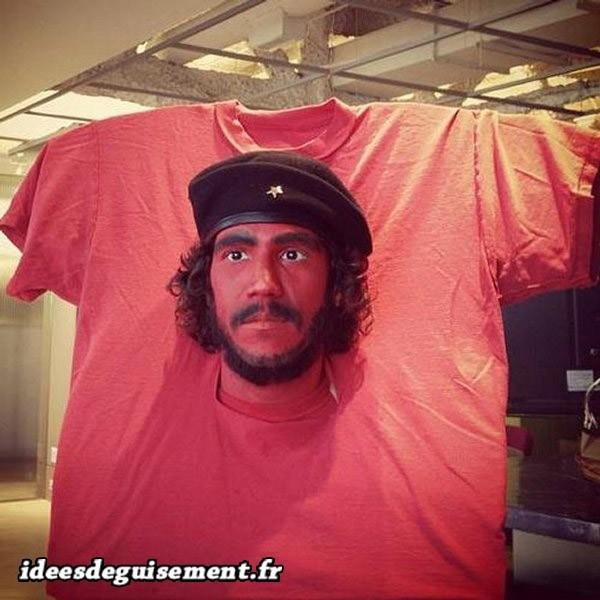 Déguisement de l'homme politique Che Guevara