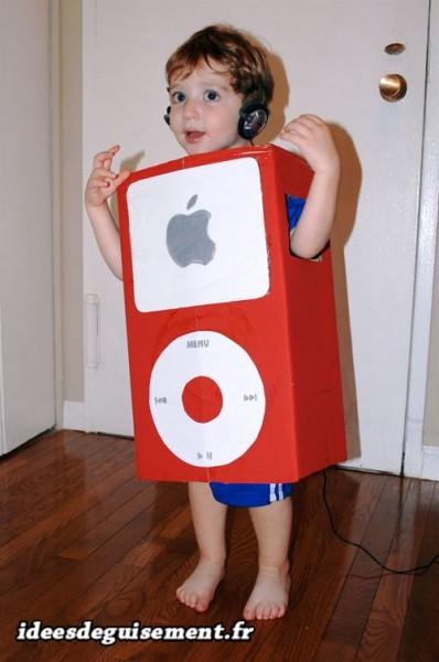 Déguisement lettre I d'iPod