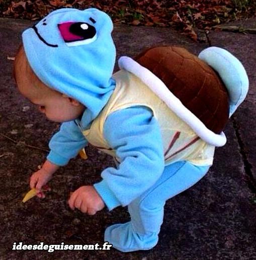 Déguisement du Pokémon Carapuce pour enfant