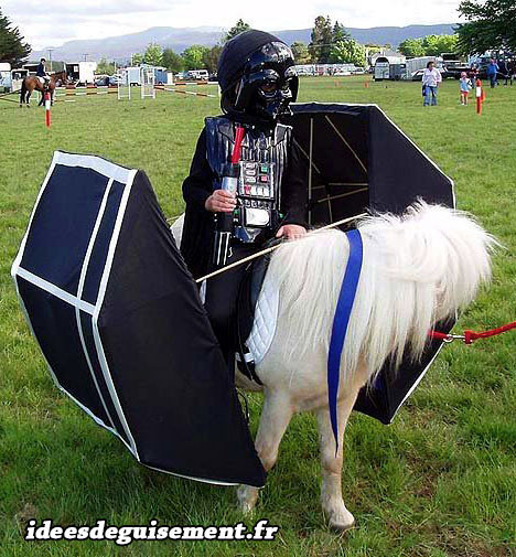 Id es originales de d guisements pour le th me star wars - Vaisseau dark vador ...