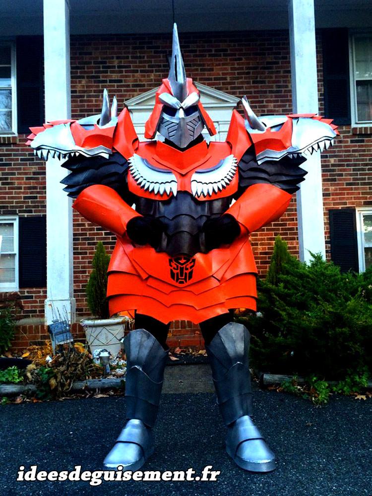 Déguisement de Transformer rouge
