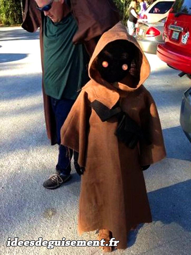Déguisement de Jawa dans Star Wars