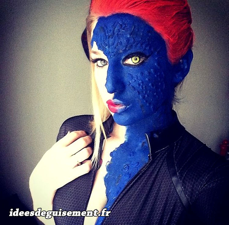 Cosplay de Mystique à la Japan Expo