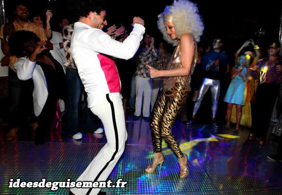 Déguisements disco des années 1980