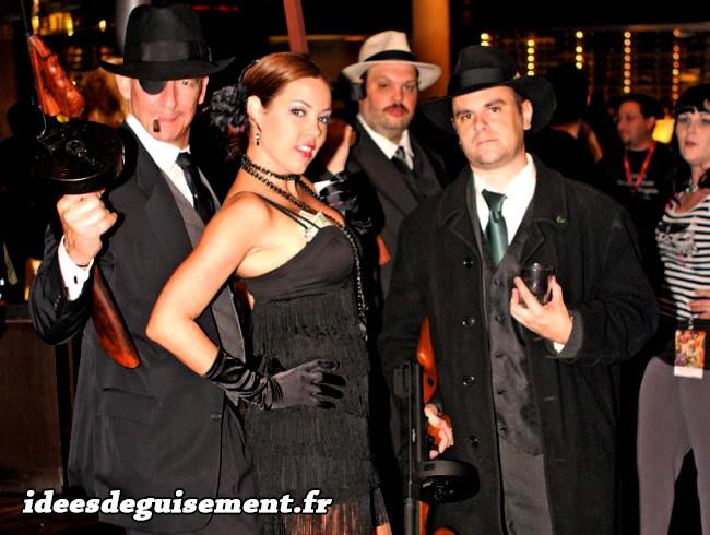 Costumes de Gangsters des années 1920
