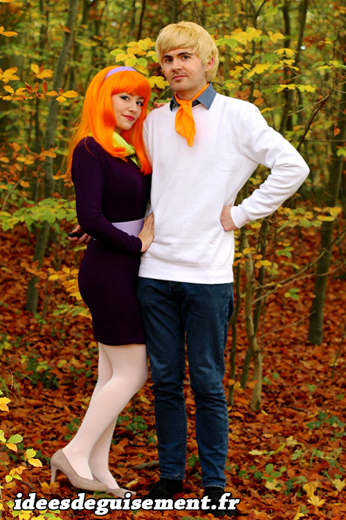 Costumes de Daphné Blake et Fred Jones