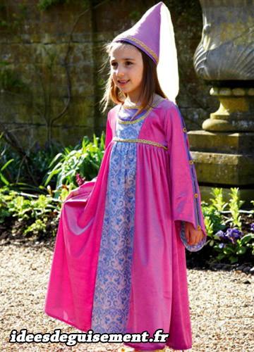 Princesse fee rose renaissance - Idees originales de deguisement costume par theme de soiree 19eme siecle