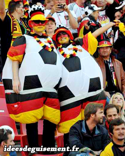 Déguisements Allemands de ballons de football