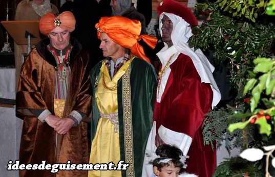 Costumes des Rois mages