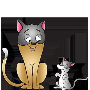 Costumes de chat et souris