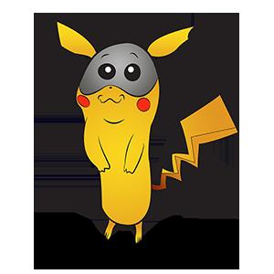 Costume de Pokémon Pikachu