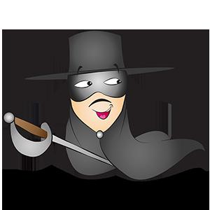 Costume du chevalier Zorro