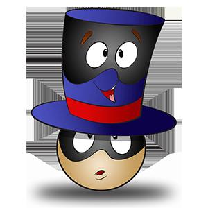 Costume de chapeau de magicien