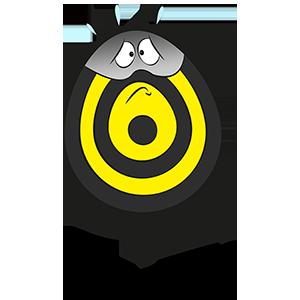 Costume de cible flèchettes