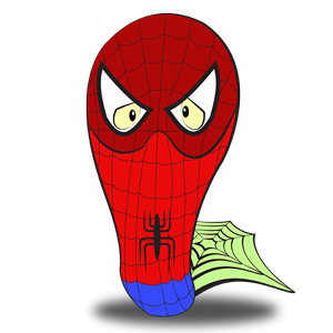 Costume de spiderman