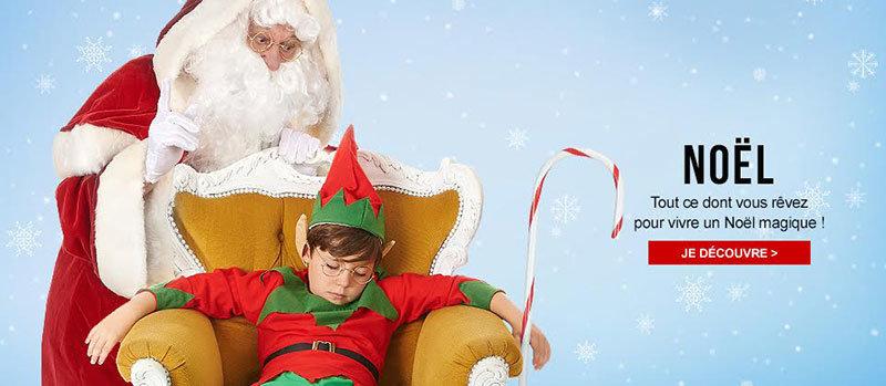 Déguisements pour un Noël magique