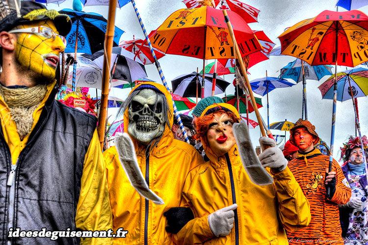 Déguisement horreur pour le carnaval de Dunkerque
