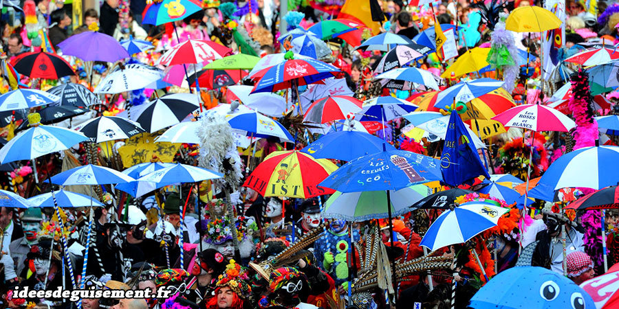 Déguisements accessoirisés et décorés pour le carnaval de Dunkerque