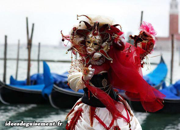 Masque original pour le Carnaval de Venise