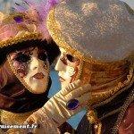 Masques pour le carnaval de Venise