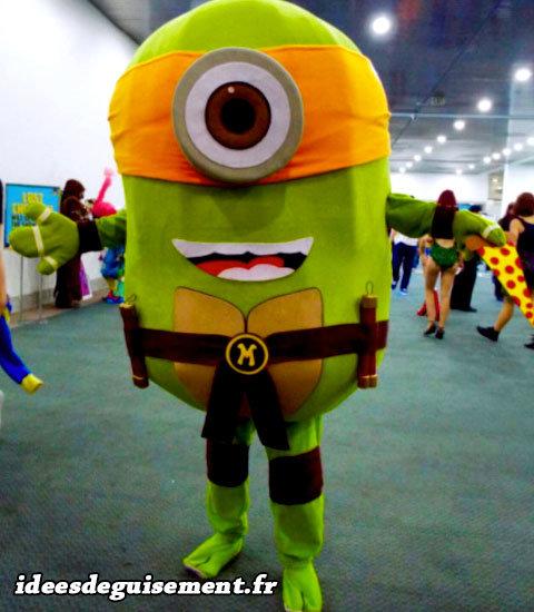 Déguisement Halloween de Minion Ninja