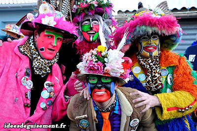 Costumes pour le carnaval de Dunkerque