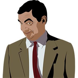 Dibujo de Mister Bean
