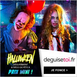 deguisetoi.fr Halloween déguisement prix mini